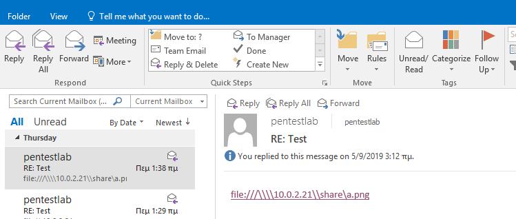 Microsoft Exchange – NTLM Relay   Penetration Testing Lab