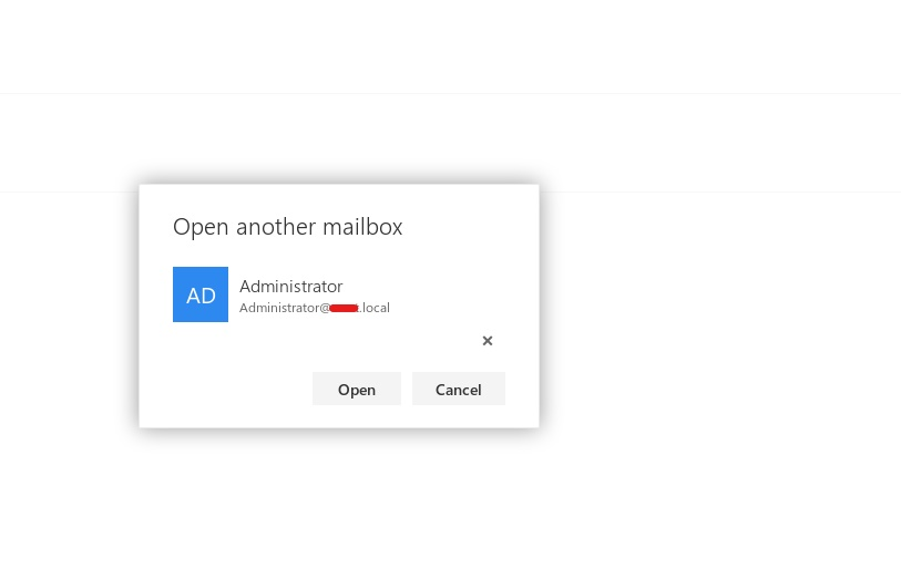 - microsoft exchange open another mailbox window - Microsoft Exchange – Privilege Escalation